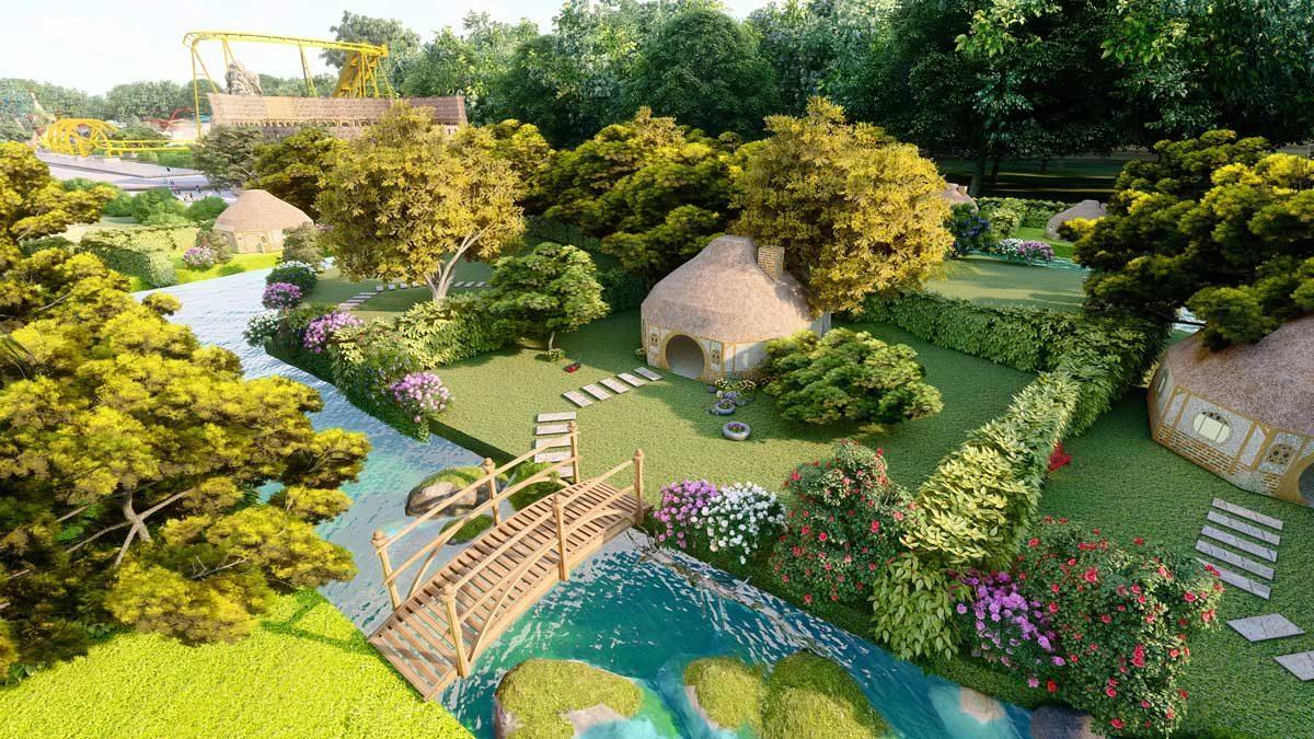 tien ich khu cong vien noi du an eco bangkok villas - ECO BANGKOK VILLAS DỰ ÁN BIỆT THỰ BÌNH CHÂU