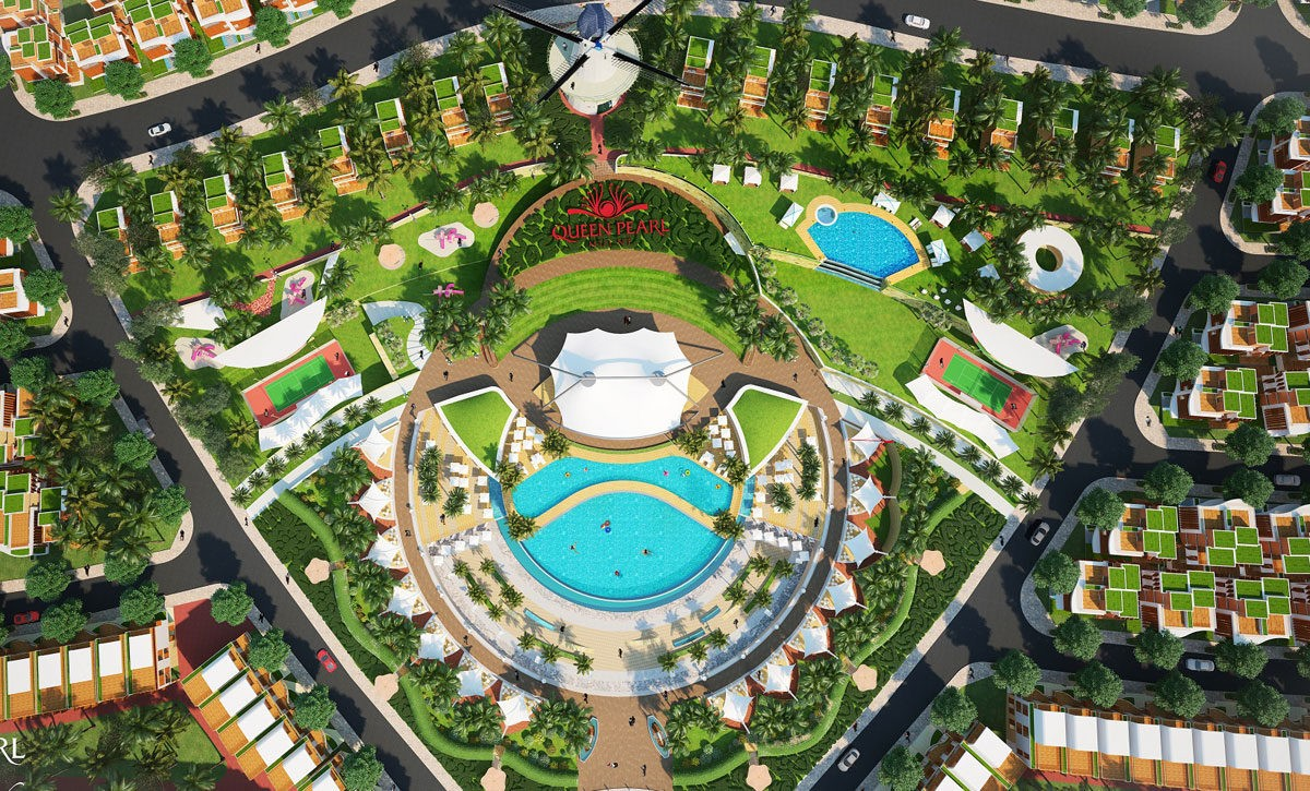 Tiện ích nội khu Dự án Queen PearlMarina Complex Bình Thuận