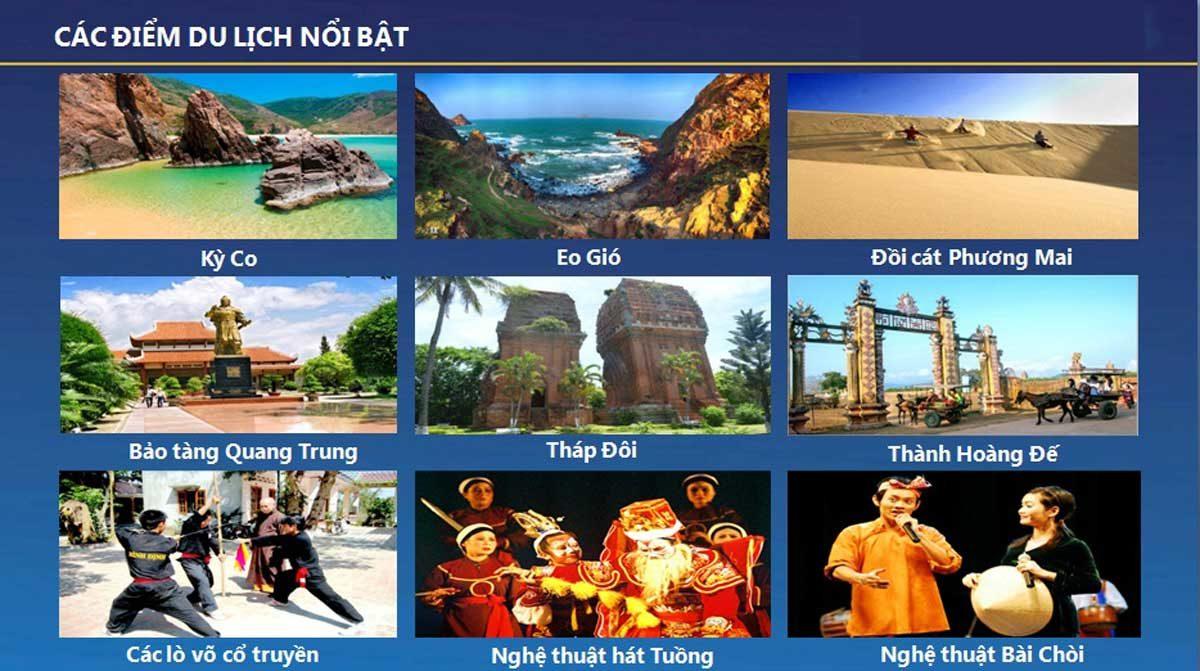 Tiện ích du lịch Dự án Golden Bay Quy Nhơn