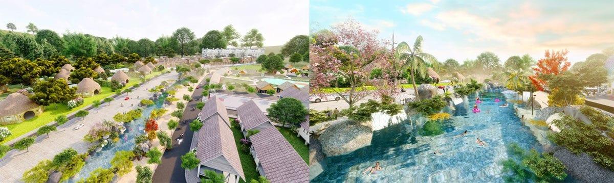 tien ich suoi nuoc nong bun khoang eco bangkok villas - ECO BANGKOK VILLAS DỰ ÁN BIỆT THỰ BÌNH CHÂU