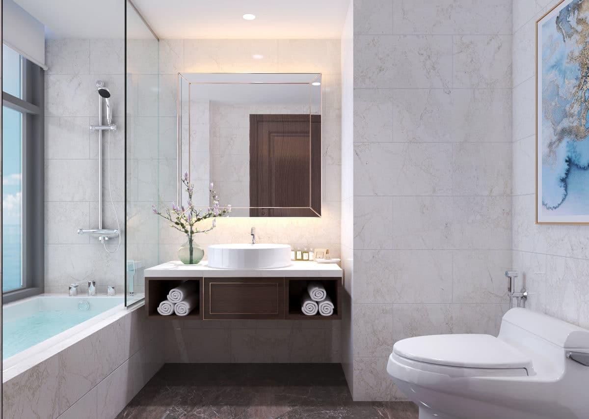 Toilet căn hộ Oyster GanhHao Vũng Tàu
