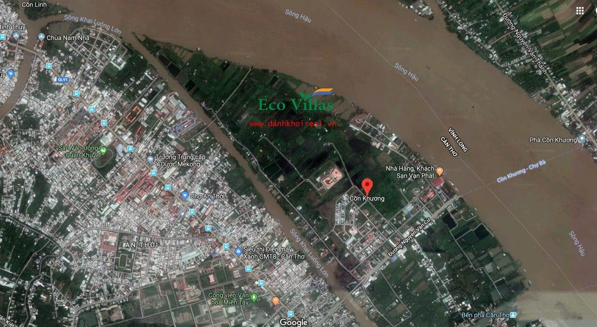 vi tri du an eco villas con khuong can tho - DỰ ÁN ECO VILLAS CỒN KHƯƠNG CẦN THƠ