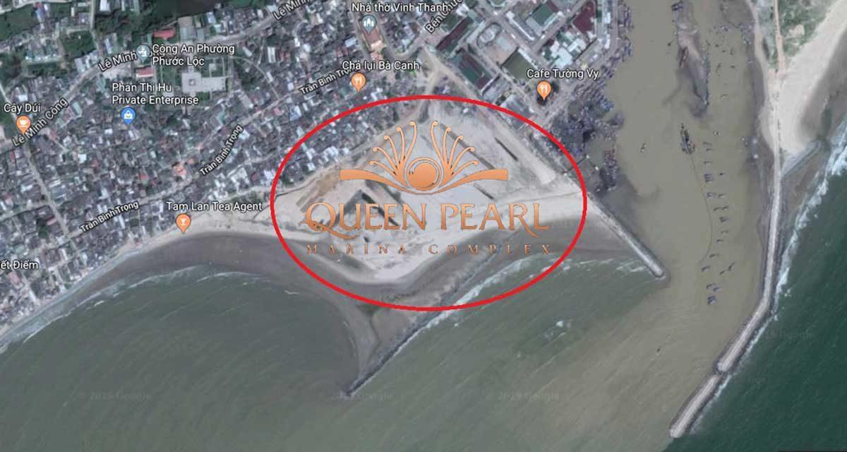 Vị trí Dự án Queen PearlMarina Complex Bình Thuận