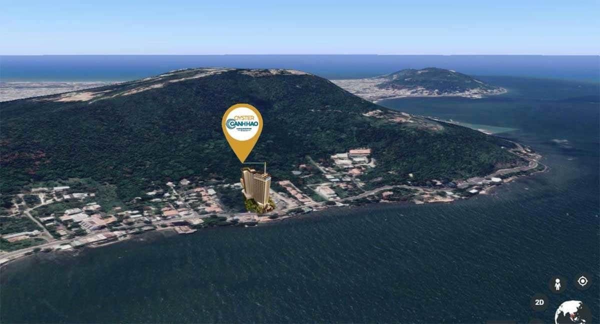 Vị trí thực tế của Oyster Gành Hào Vũng Tàu