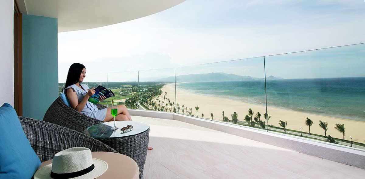 View biển tuyệt đẹp tại Dự án Golden Bay Quy Nhơn