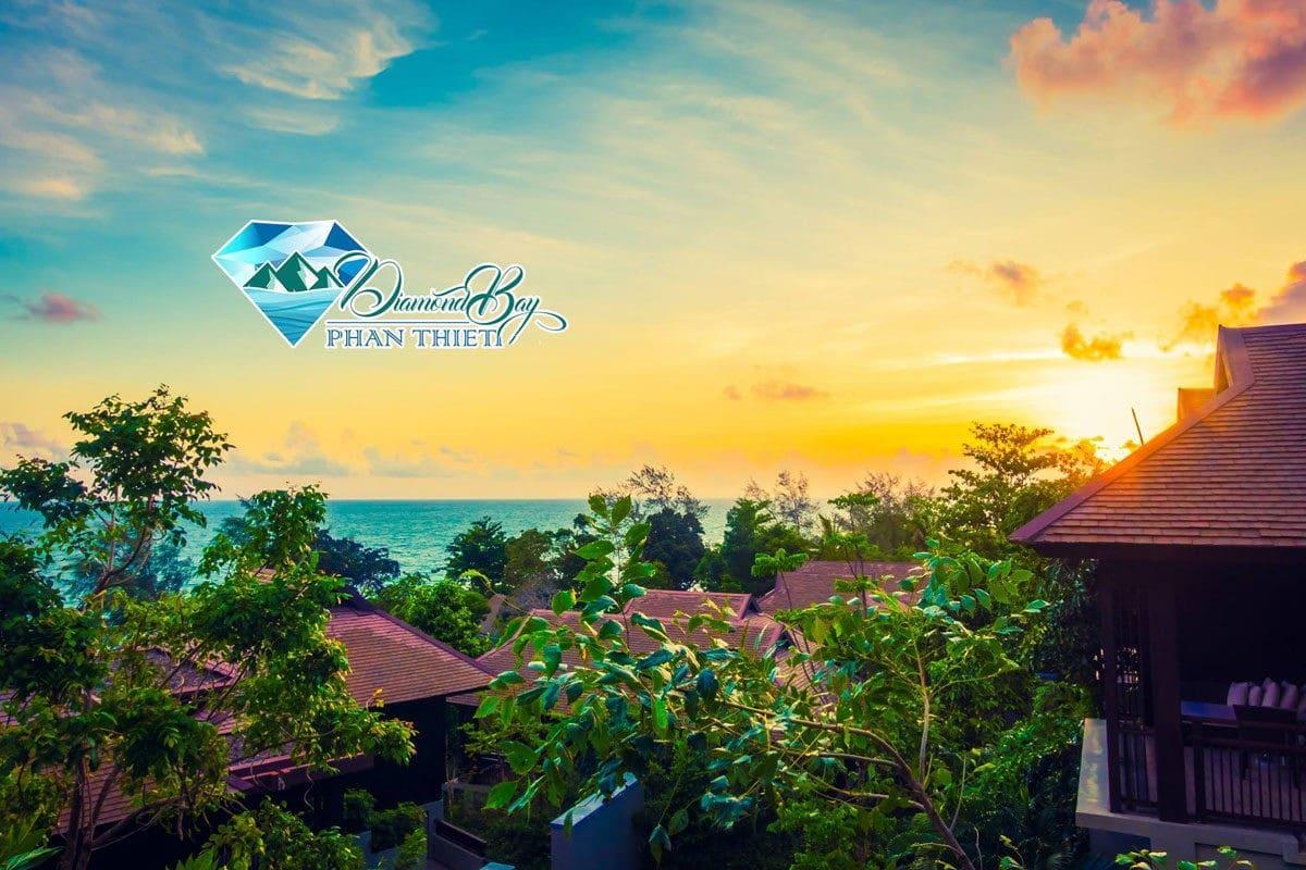 View biển tuyệt đẹp của Dự án Diamond Bay Phan Thiết