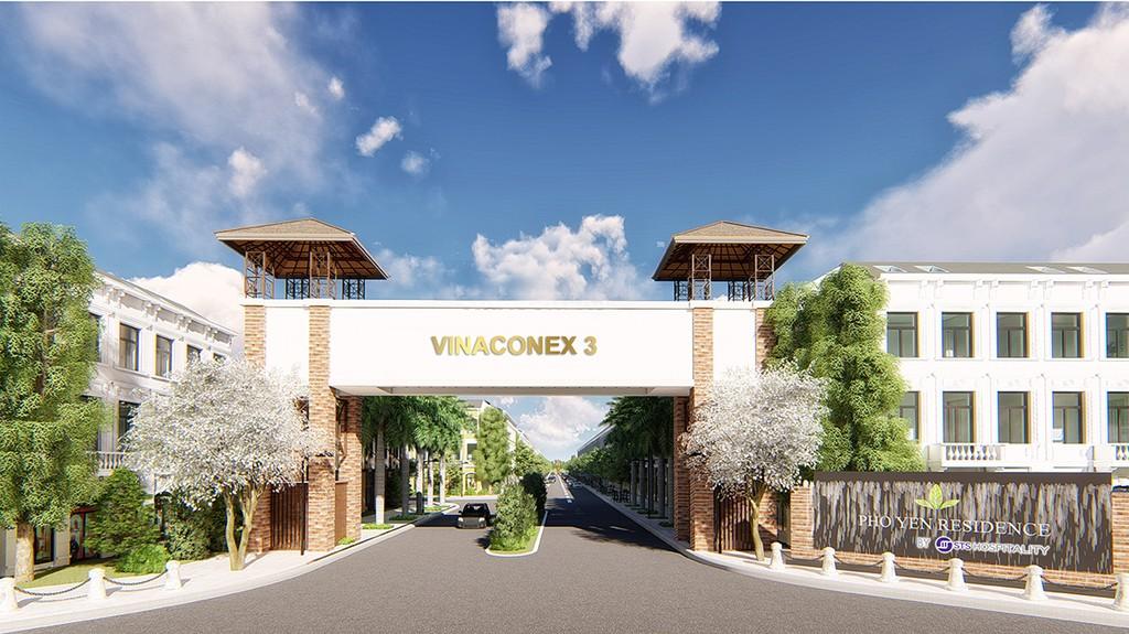 Cổng vào khu Dân cư Vinaconex 3