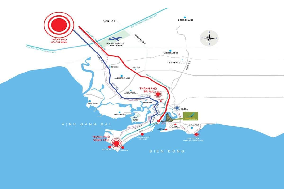 cao tốc biên hòa vũng tàu - THÔNG TIN QUY HOẠCH HUYỆN LONG THÀNH - ĐỒNG NAI