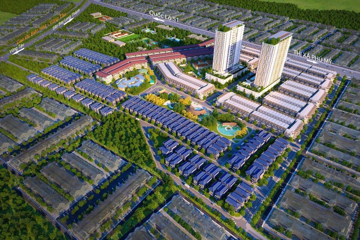 Phối cảnh Dự án Phú Mỹ Gold City