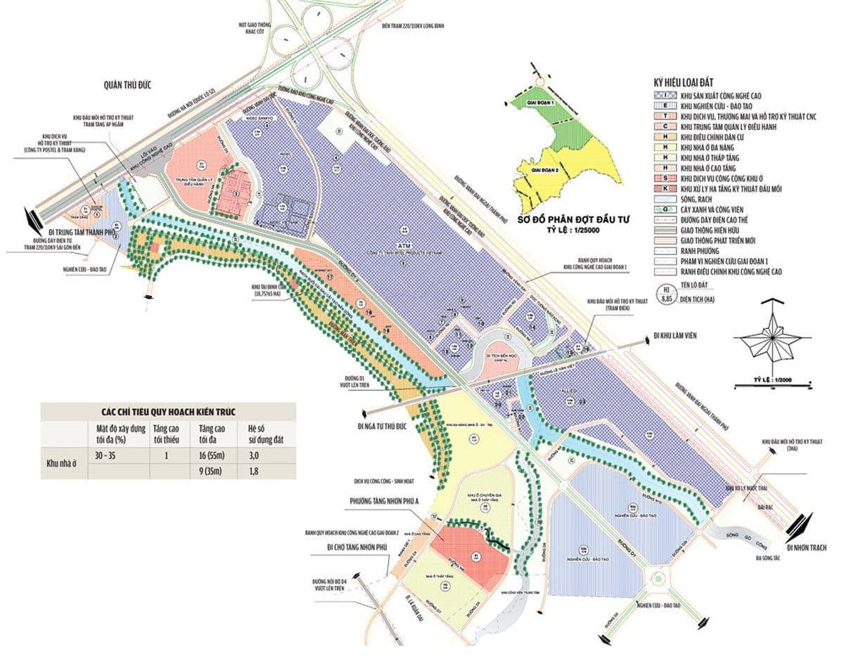 Quy hoạch khu công nghệ cao thành phố Hồ Chí Minh