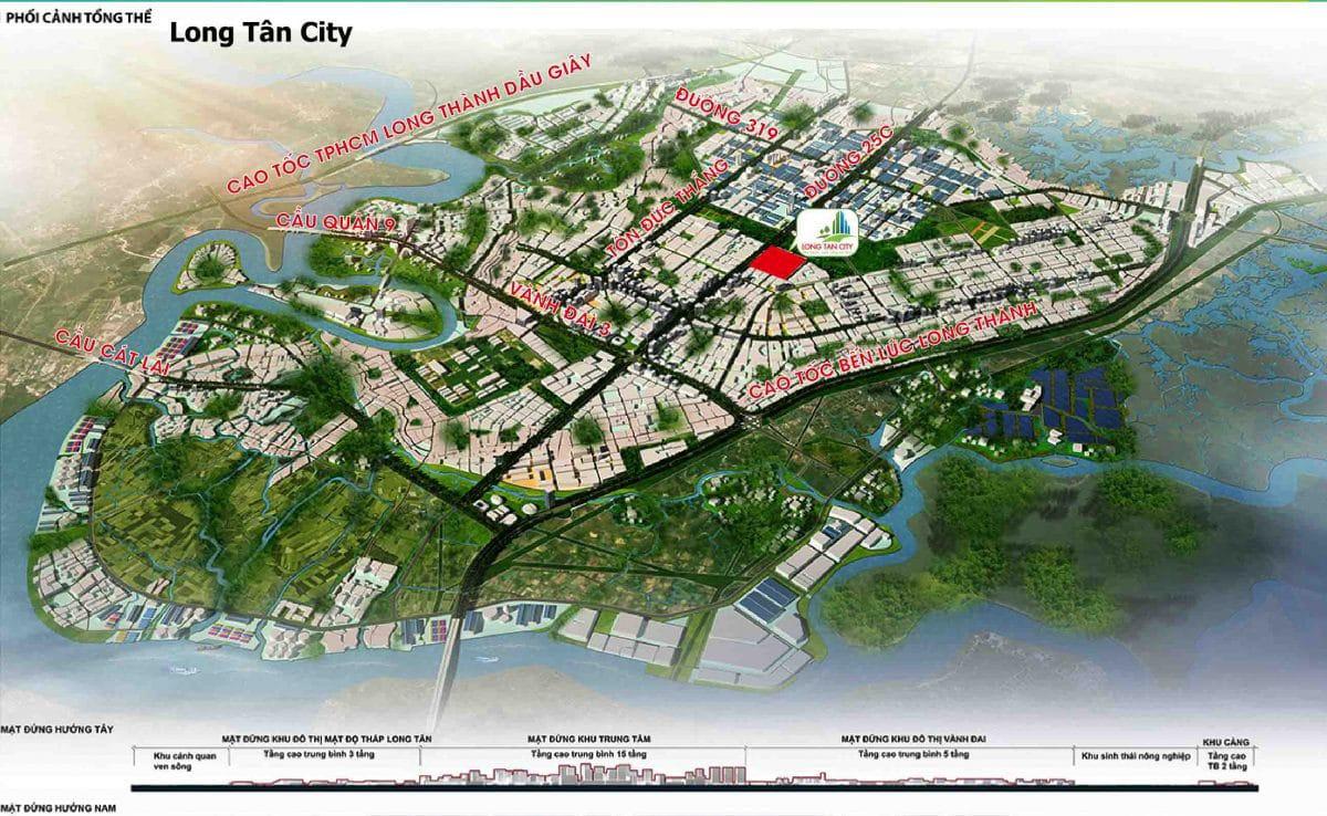 Tổng quan Dự án Long Tân City Nhơn Trạch Đồng Nai