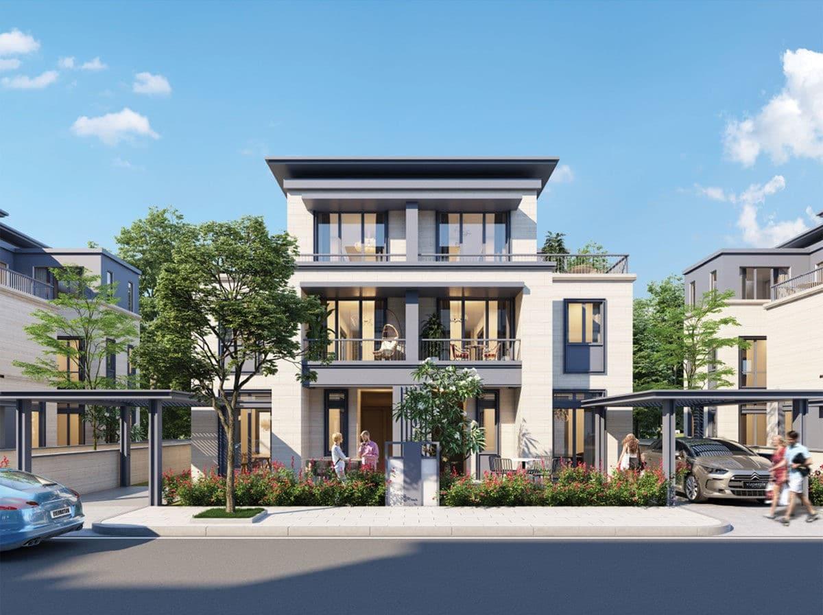 Biệt thự Dự án Long Tân City Nhơn Trạch