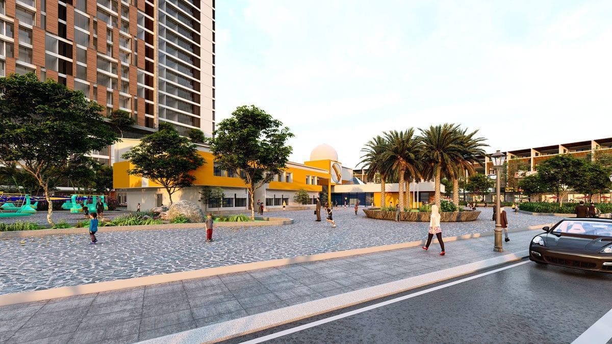 Khu nhà trẻ tại Dự án Phú Mỹ Gold City