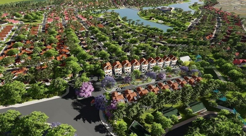 phối cảnh dự án villa town đà lạt - DỰ ÁN BIỆT THỰ VILLA TOWN