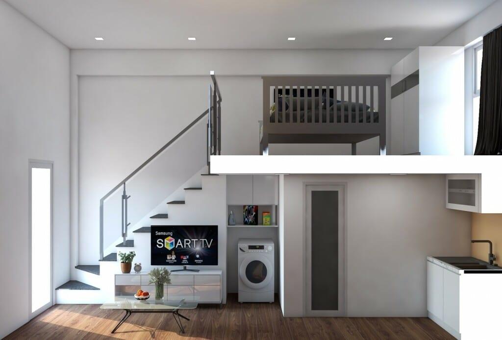phối cảnh trong căn hộ 9x house - DỰ ÁN CĂN HỘ 9X HOUSE