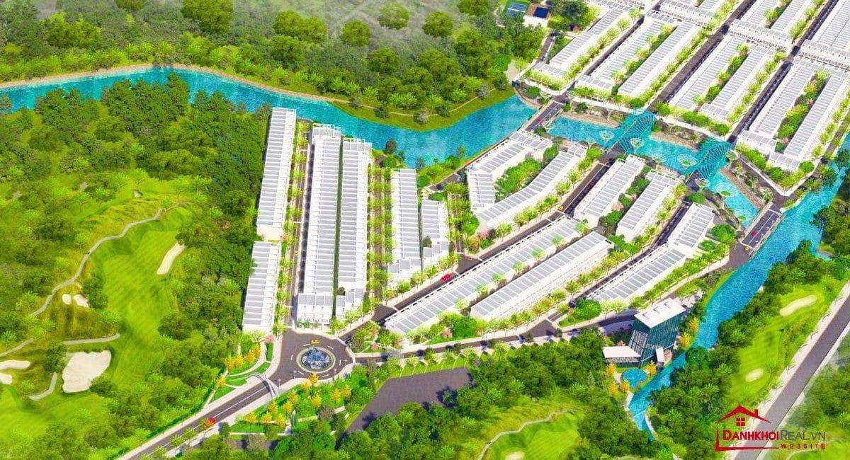 phoi canh airport new center - DỰ ÁN AIRPORT NEW CENTER LONG THÀNH ĐỒNG NAI