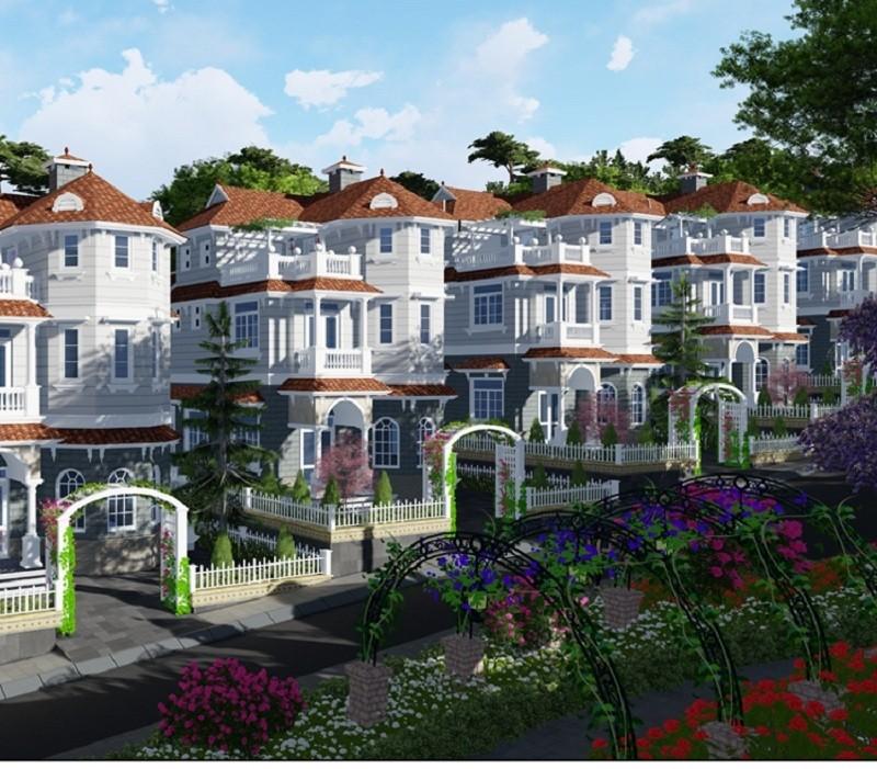Thiết kế Villa Town Đà Lạt