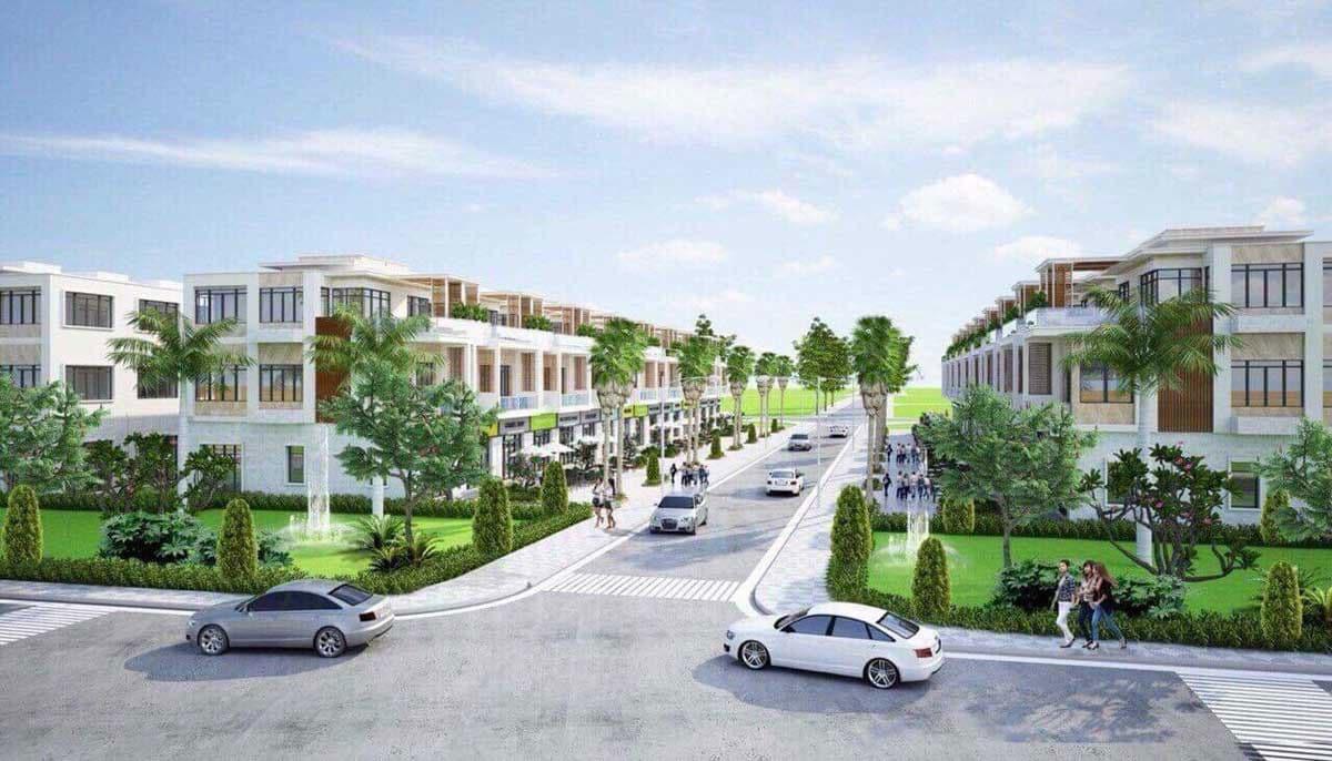 thiet ke nha pho airport new center - DỰ ÁN AIRPORT NEW CENTER LONG THÀNH ĐỒNG NAI