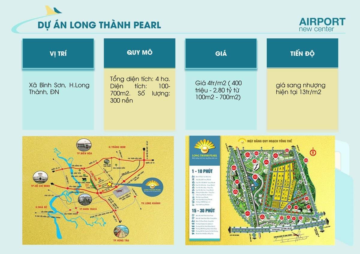 thong tin du an long thanh pearl - DỰ ÁN AIRPORT NEW CENTER LONG THÀNH ĐỒNG NAI