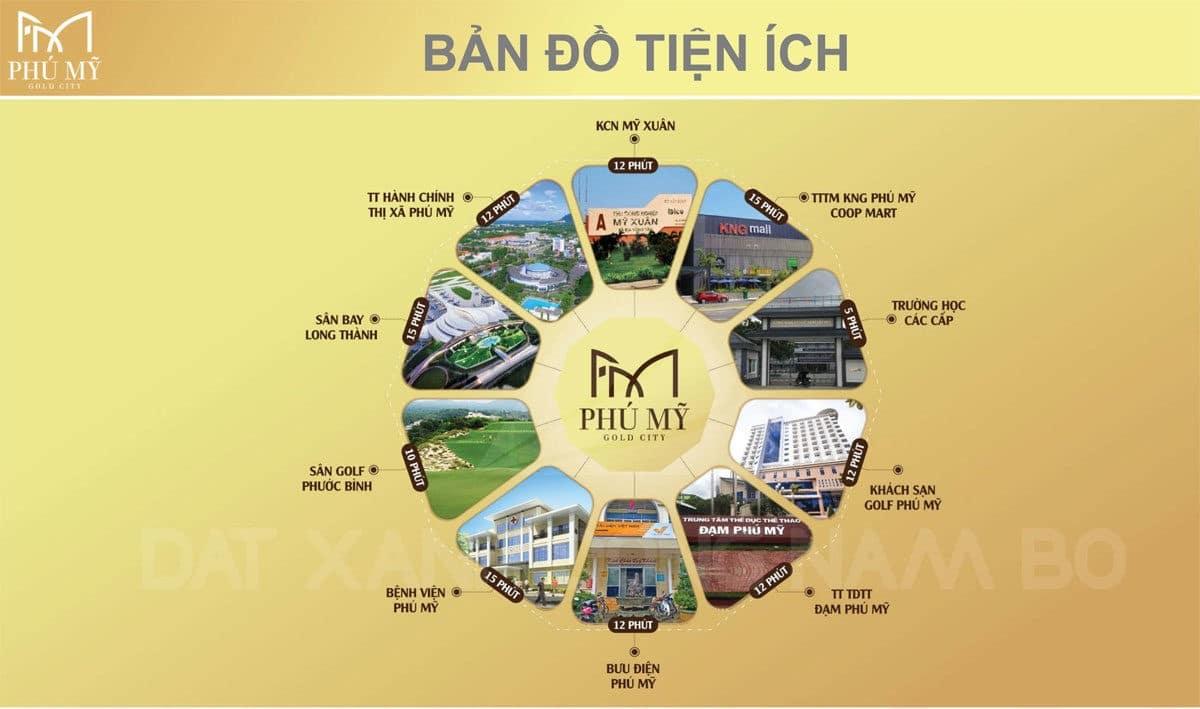 Tiện ích Dự án Phú Mỹ Gold City