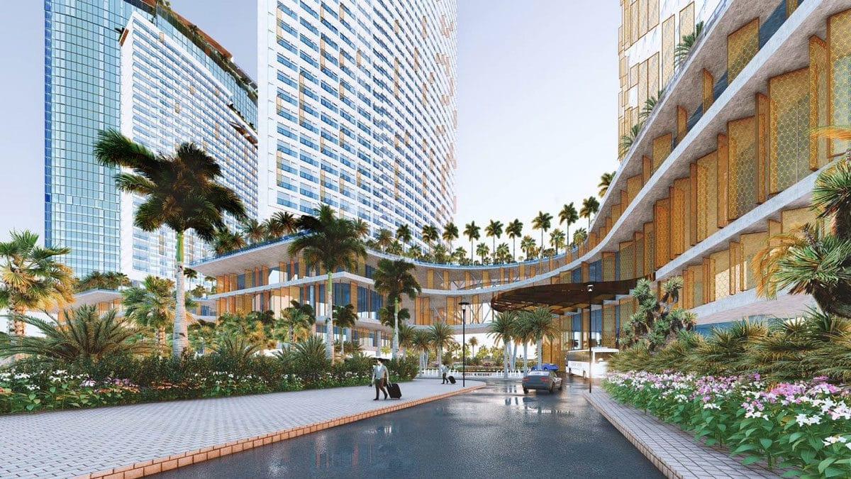Tiện ích nội khu Dự án Căn hộ Condotel SunBay Park Hotel & Resort