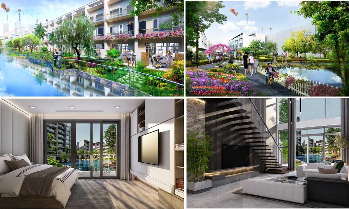 Hình ảnh kiến trúc Home Resort - LIC CITY PHÚ MỸ