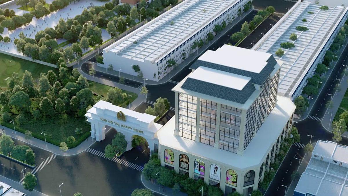 Happy Home sẽ là dự án điểm nhấn của thị trường bất động sản Cà Mau