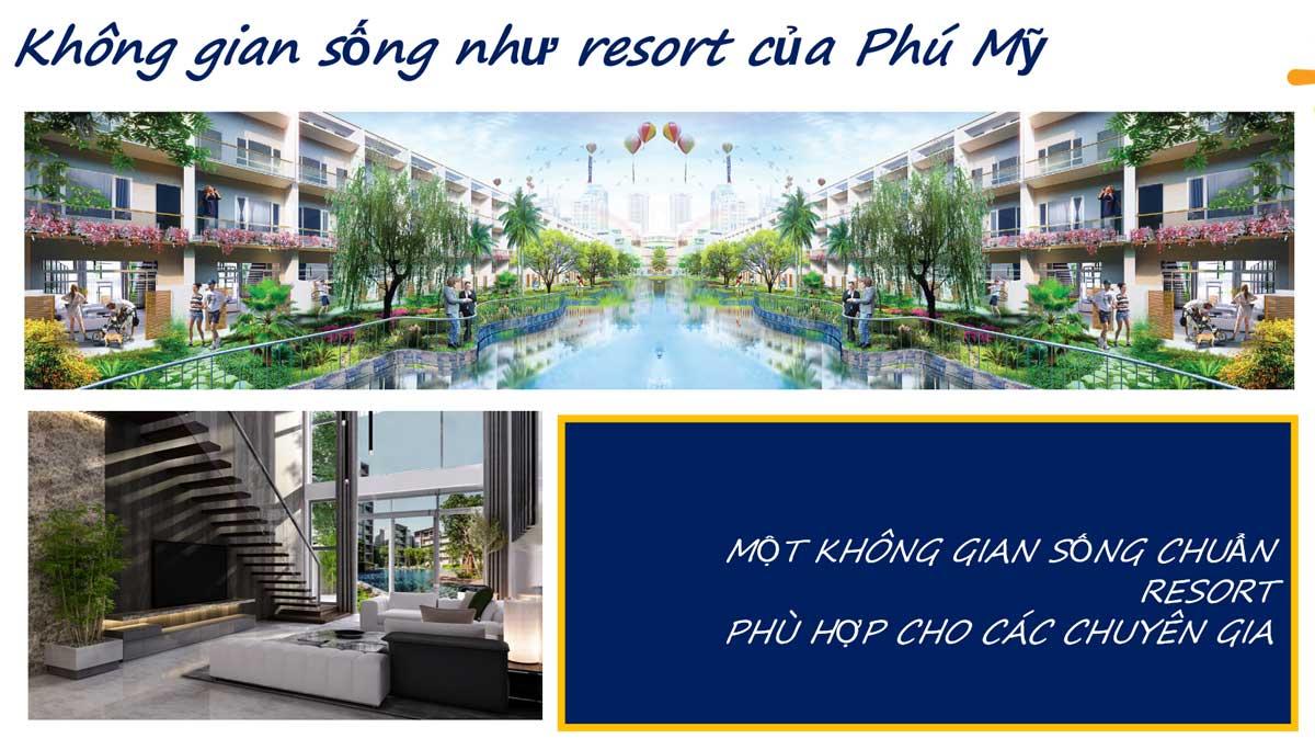 Không gian sống như resort của Phú Mỹ - LIC CITY PHÚ MỸ