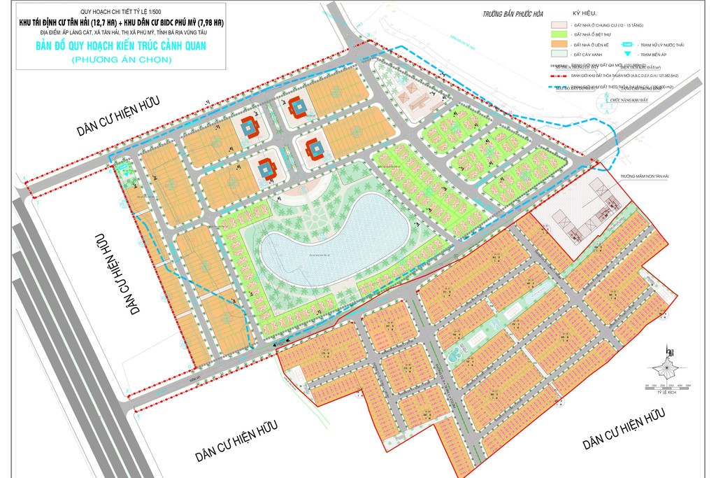 Mặt bằng Dự án Lic City Phú Mỹ, Bà Rịa - Vũng Tàu