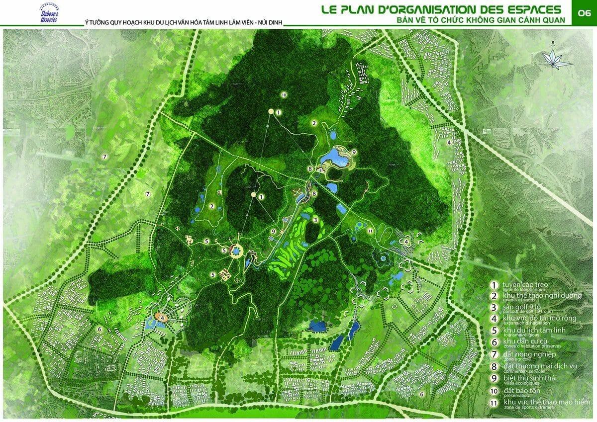 Quy hoạch FLC Núi Dinh - DỰ ÁN FLC NÚI DINH BÀ RỊA VŨNG TÀU