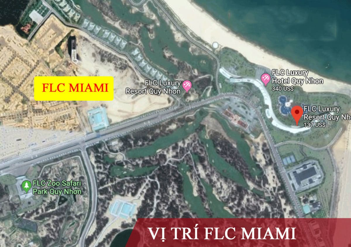 Vi tri du an FLC Miami District - DỰ ÁN FLC MIAMI DISTRICT QUY NHƠN