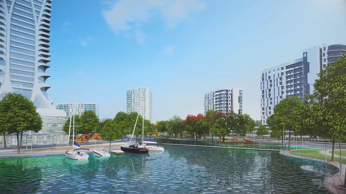 ben du thuyen tai du an green city cu chi - DỰ ÁN GREEN CITY TỈNH LỘ 8 CỦ CHI
