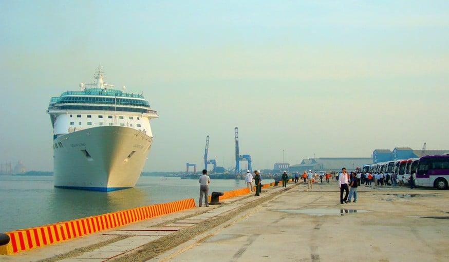 Cảng biển tại Phú Mỹ