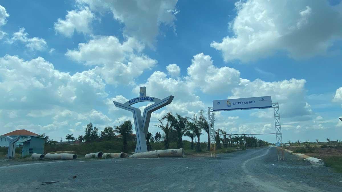 cong du an e city tan duc - DỰ ÁN E.CITY TÂN ĐỨC LONG AN