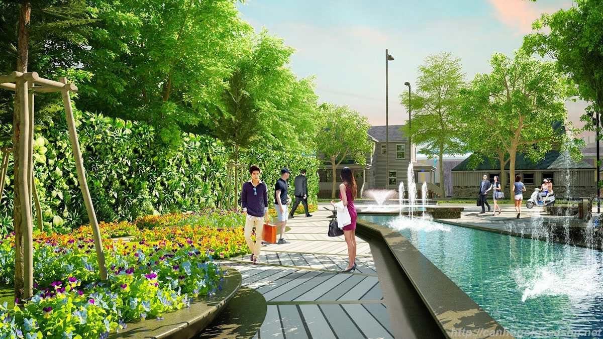 Công viên nội khu Dự án Nhơn Hội New City