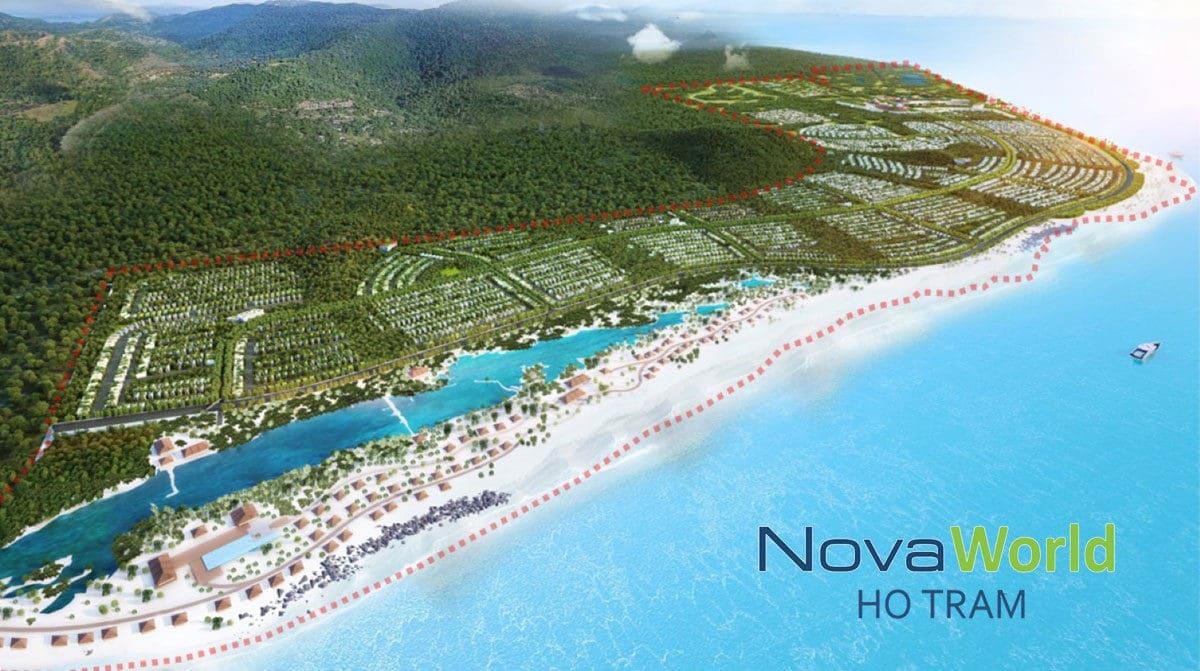 Dự án Khu đô thị Du lịch Nghỉ dưỡng Giải trí NovaWorld Hồ Tràm