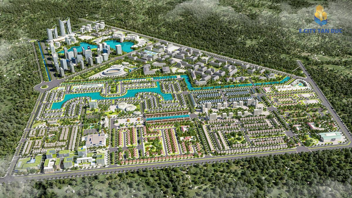 Giá bán dự án Ecity Tân Đức Long An