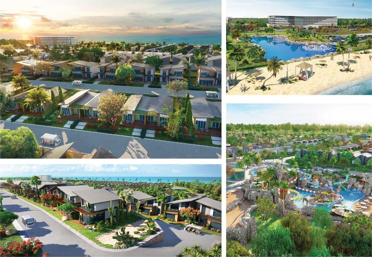 Phối cảnh Dự án Khu đô thị Du lịch Nghỉ dưỡng Giải trí NovaWorld Hồ Tràm