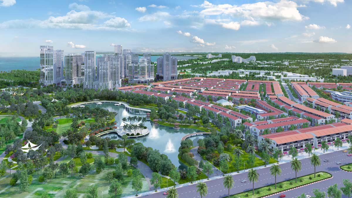 Khu công viên 5ha tại Dự án Nhơn Hội New City