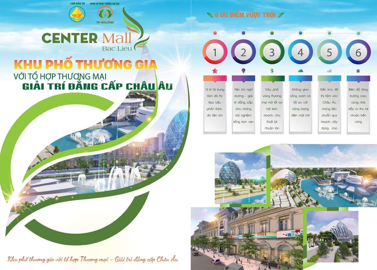khu do thi center mall bac lieu - DỰ ÁN KHU ĐÔ THỊ CENTER MALL BẠC LIÊU