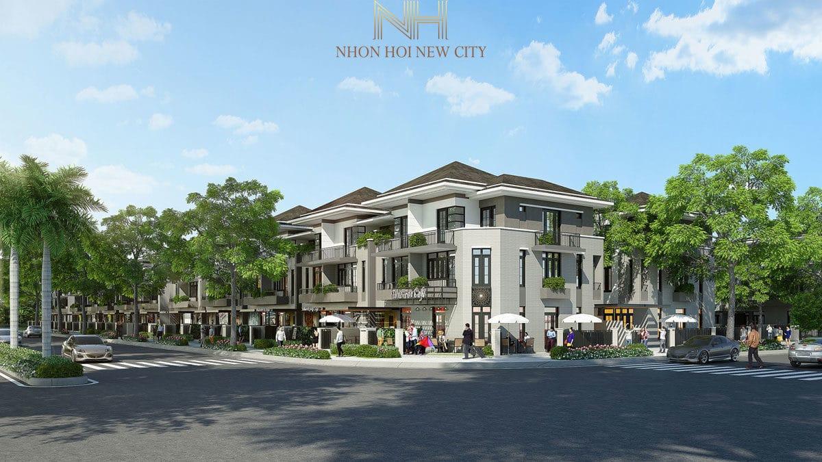 khu nha pho du an nhon hoi new city binh dinh - DỰ ÁN KHU ĐÔ THỊ SINH THÁI NHƠN HỘI NEW CITY