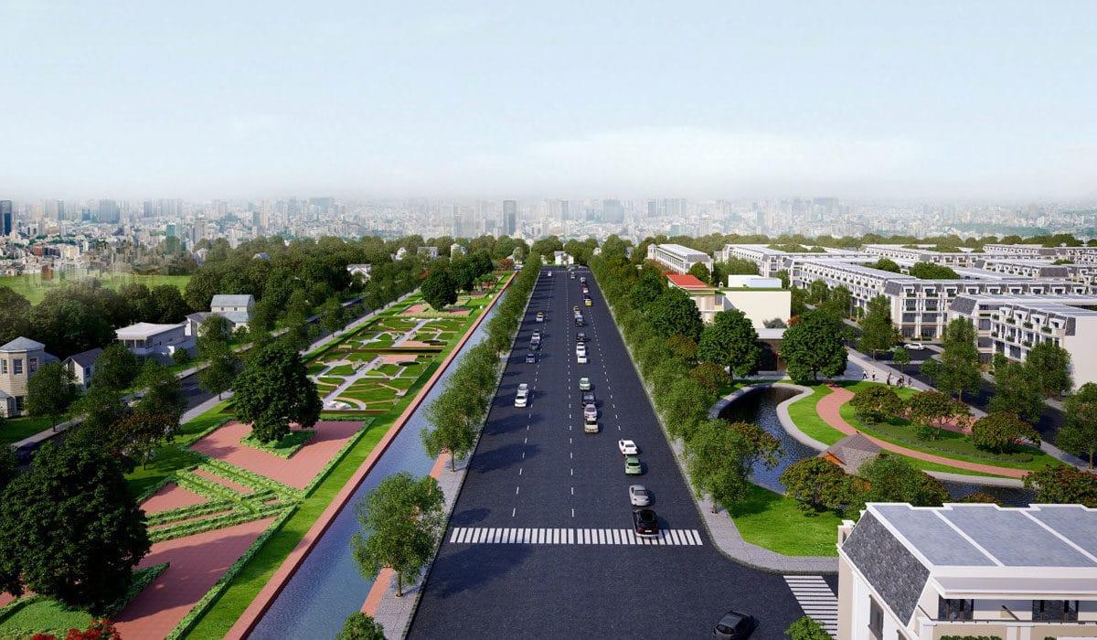 Phối cảnh Dự án Airport City Long Thành
