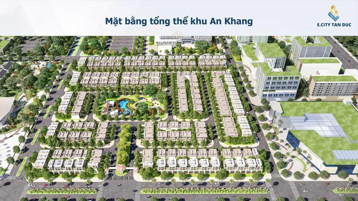 mat bang tong the khu phuc an khang du an e.city tan duc - DỰ ÁN E.CITY TÂN ĐỨC LONG AN