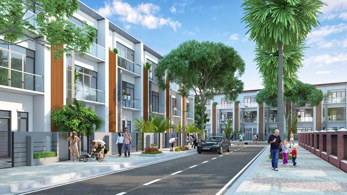Nhà phố liên kế Nhơn Hội New City