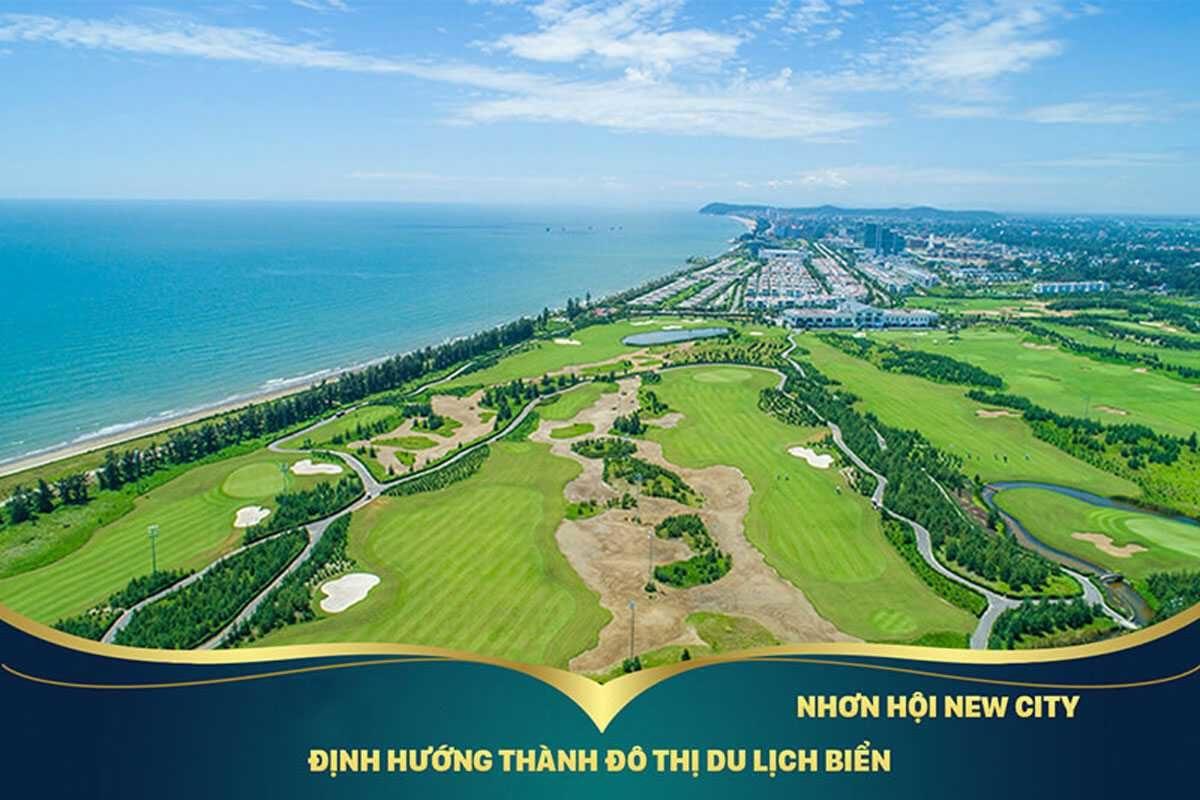 Nhon Hoi New City phát triển theo định hường thành phố Du lịch Biển