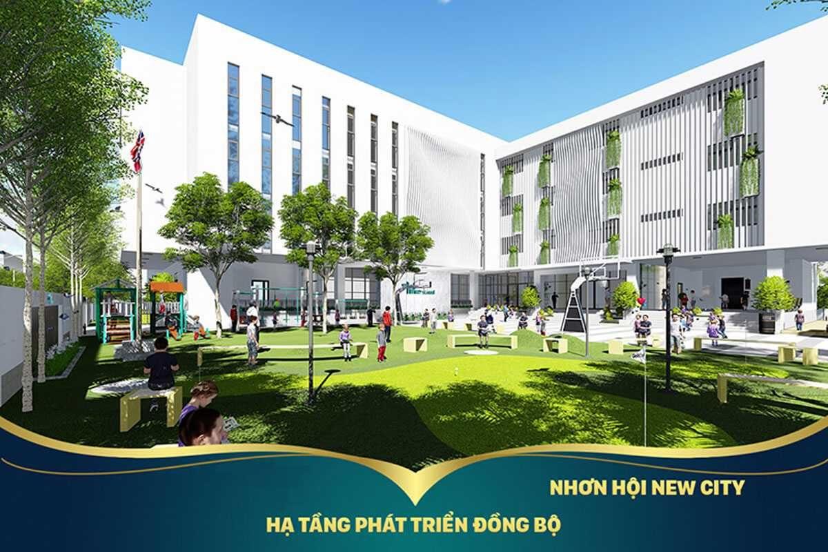 Nhơn Hội New City hạ tầng phát triển đồng bộ với toàn bộ khu vực