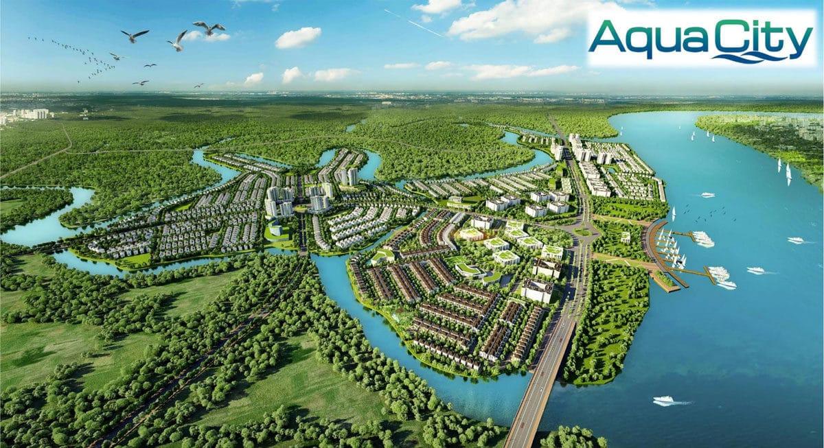 phoi canh aqua city - GIỚI THIỆU VỀ TẬP ĐOÀN NOVALAND