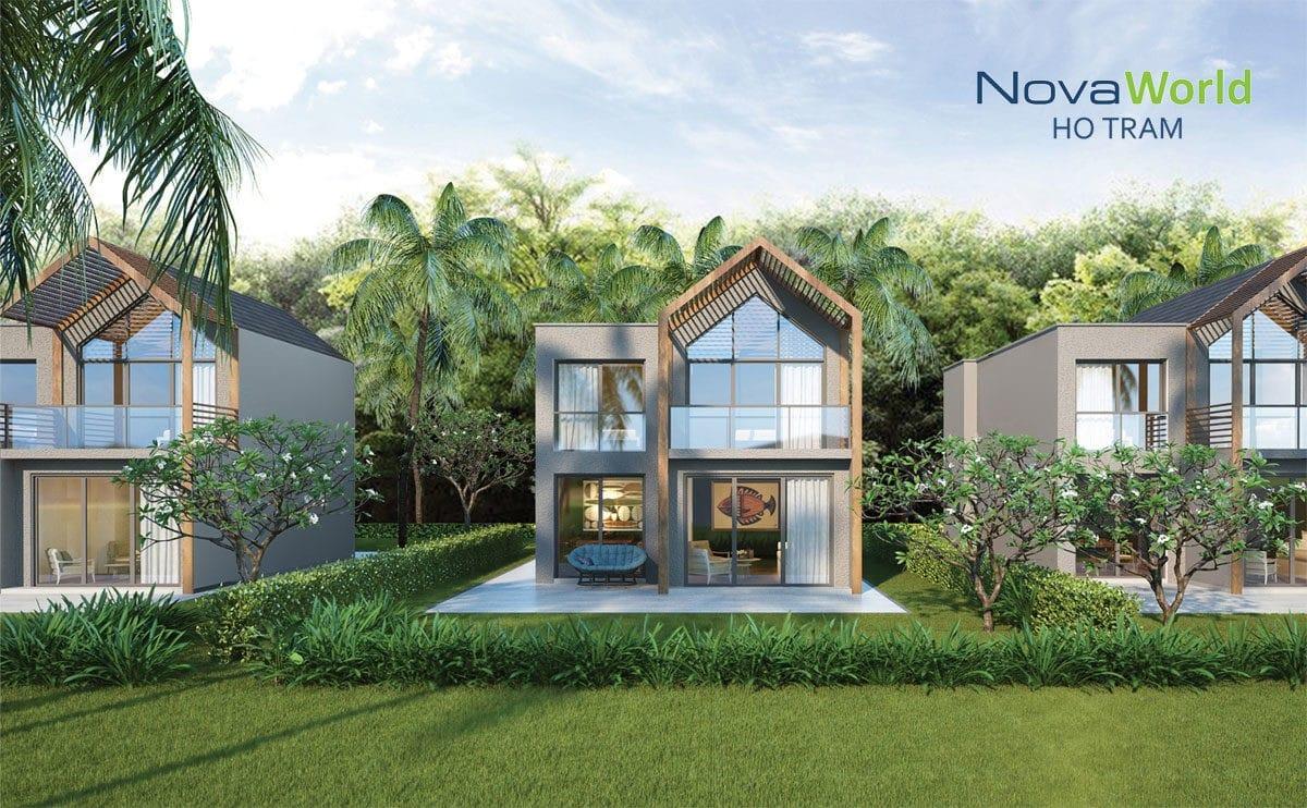 Phối cảnh Biệt thự NovaWorld Hồ Tràm Bình Châu