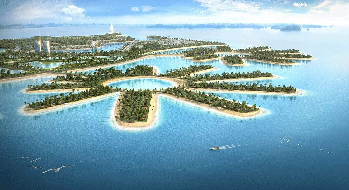 Phối cảnh Dự án Khu đô thị LakeSide Phú Mỹ