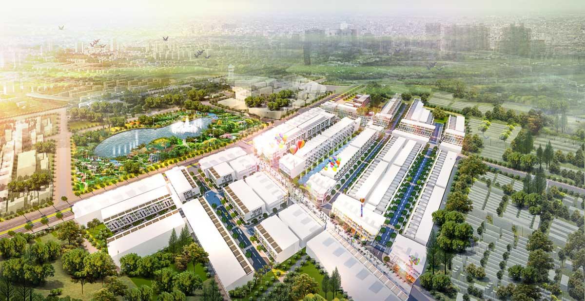 phoi canh lic city - LIC CITY PHÚ MỸ